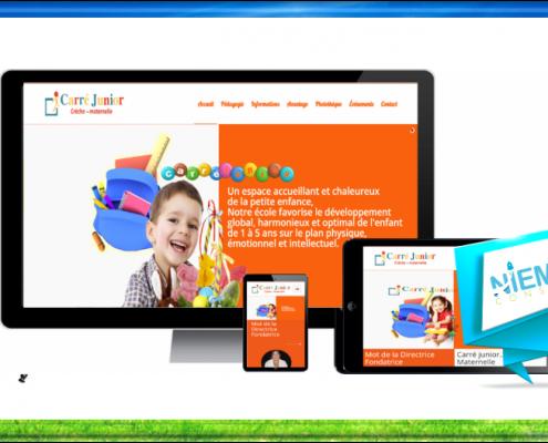 création site internet pour crèche