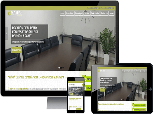 agence web rabat site web marbbah business center