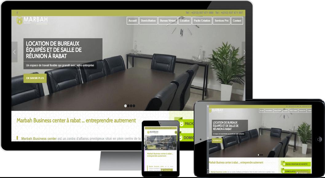 création site web rabat