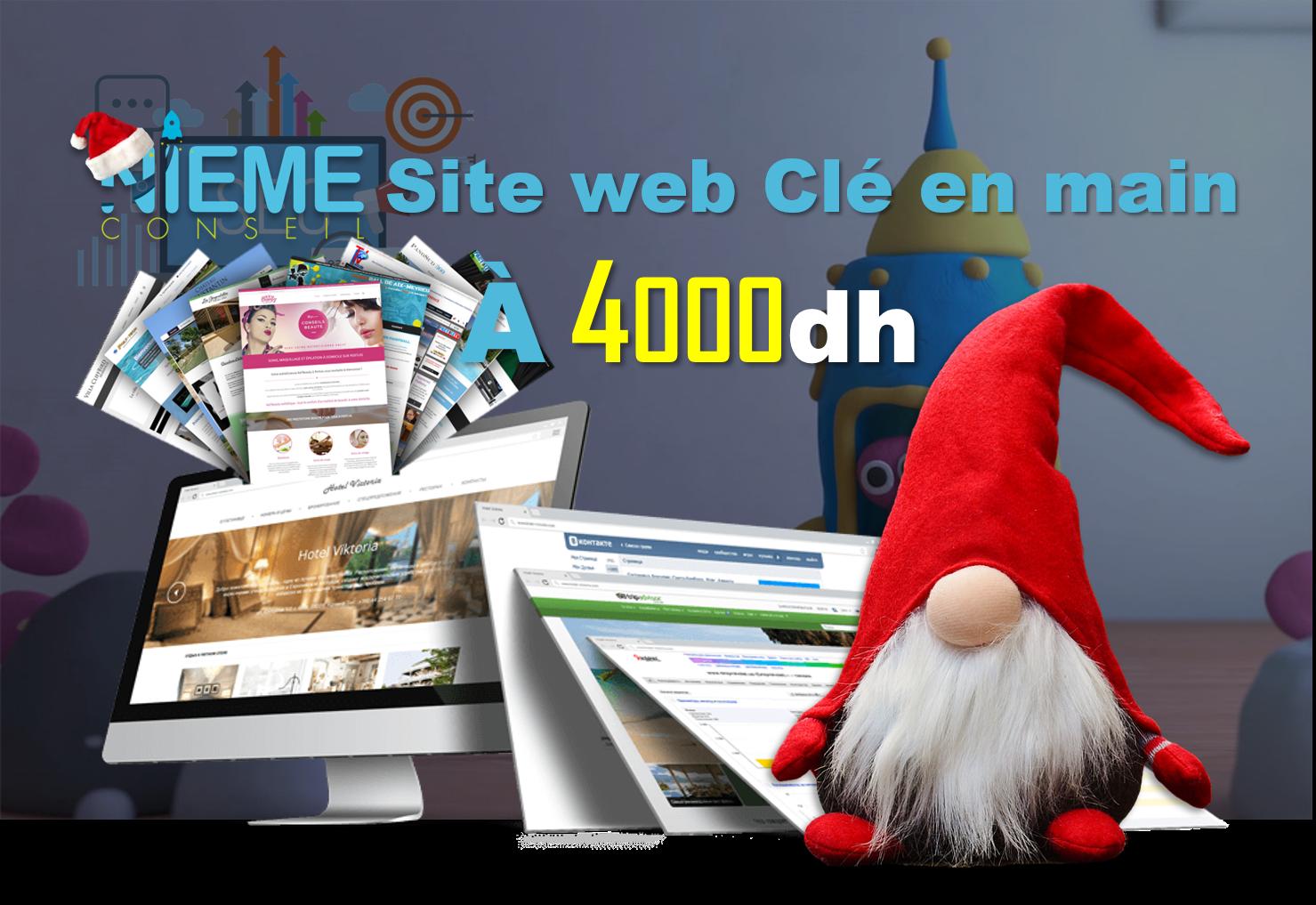 promotion 2019 création site web rabat